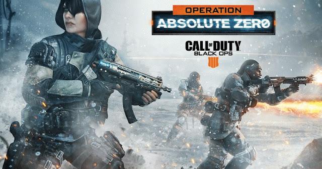 الإعلان رسميا عن عملية Absolute Zero للعبة Black Ops 4 و هذه محتوياتها المجانية ..