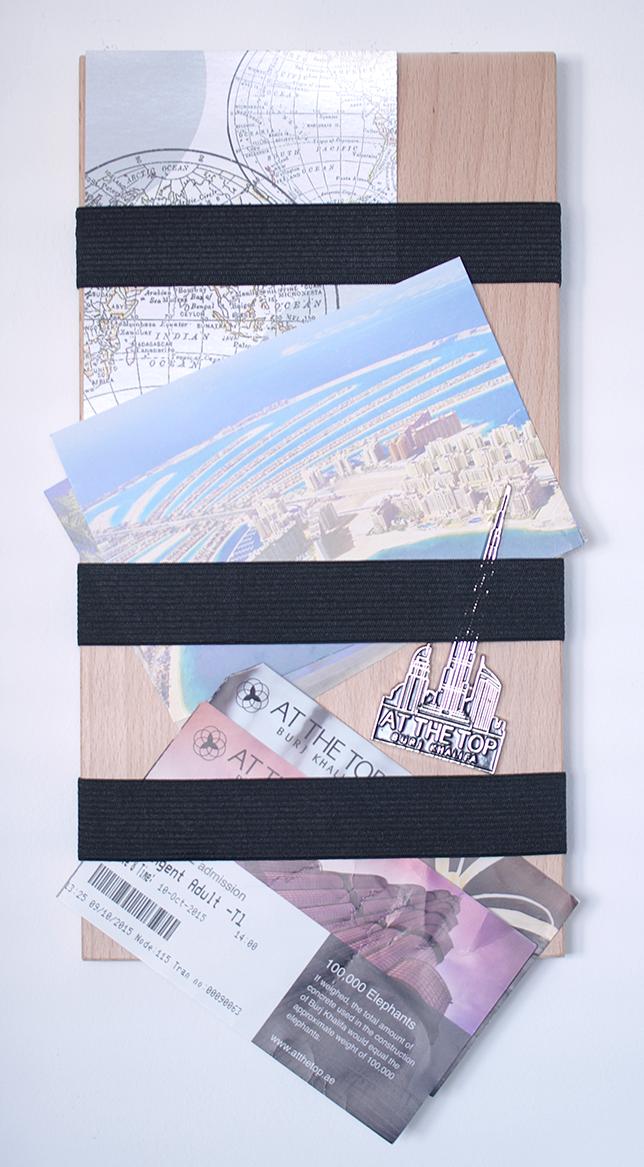 Ynas Design Blog | DIY Klemmboard | Für Karten und Erinnerungen