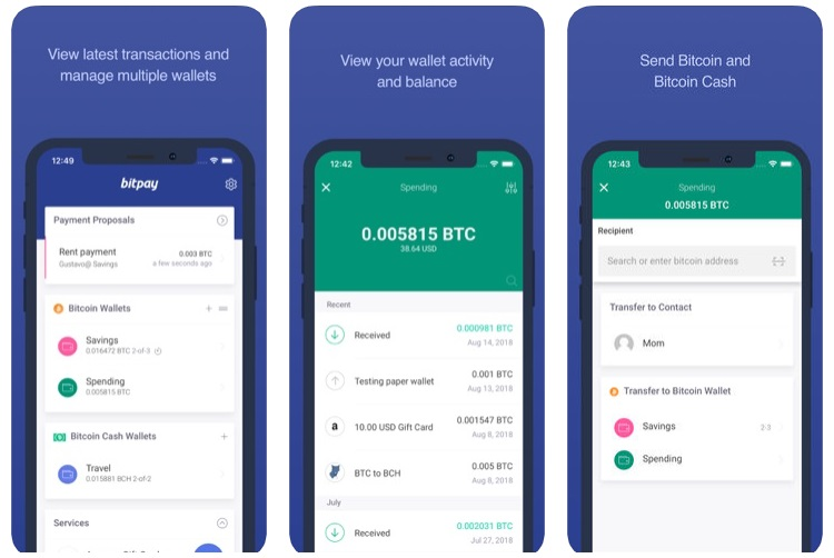 BitPay App : Secure Bitcoin Wallet