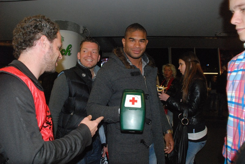 Alistair Overeem And Golden Glory Continue Relief Efforts In