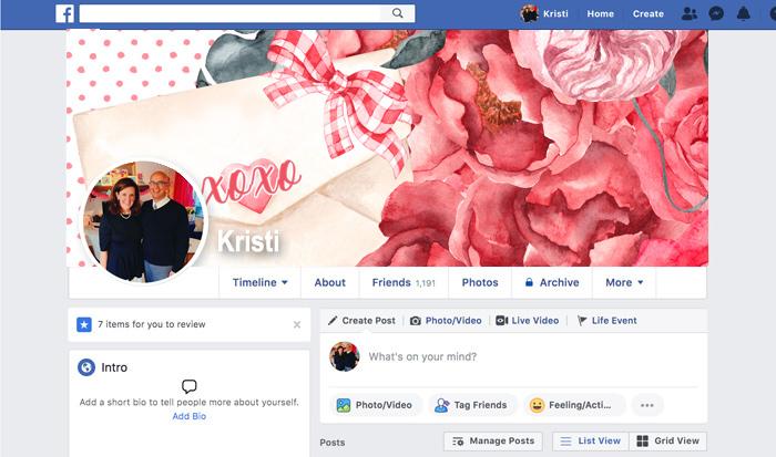 Facebook Timelines for Valentines