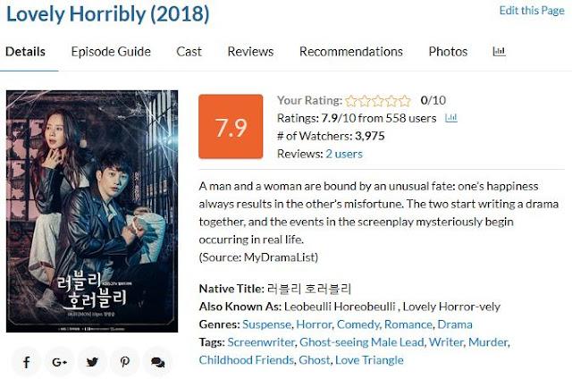 Korean Drama (September 2018)