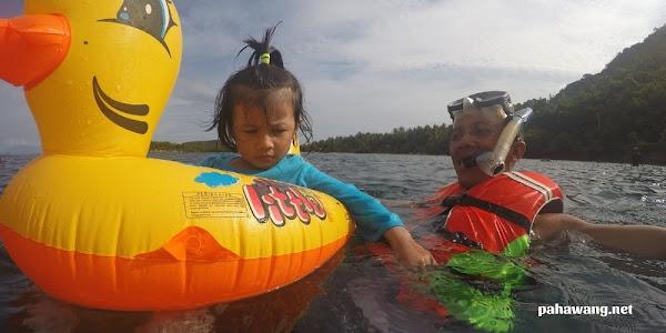 water sport wisata pulau pahawang