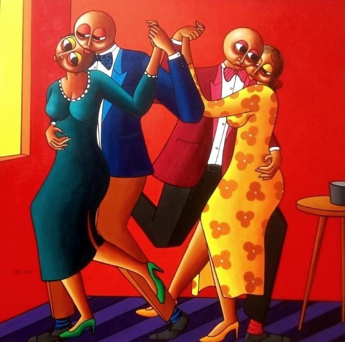 Нигерийский фигуративный художник.