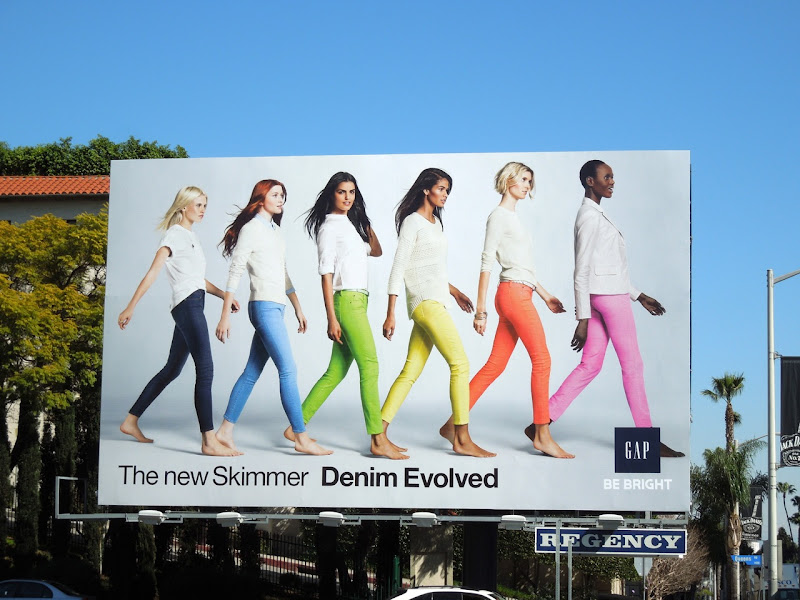 Gap Denim Evolved billboard