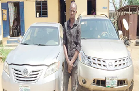 car thief arrested lagos