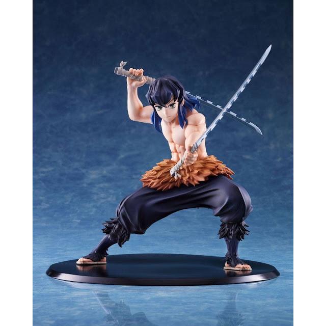 "Figuras: Dinámica figura de Inosuke de ""Kimetsu no Yaiba"" - Aniplex+"