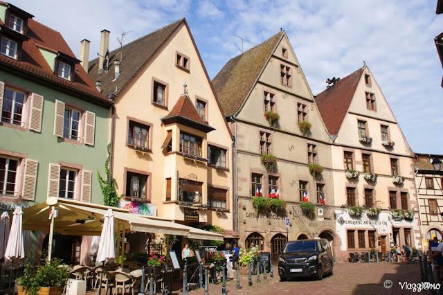 Rue du General de Gaulle è la via principale di Kaysersberg