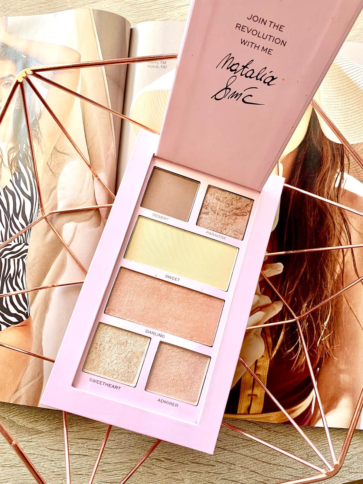 makeup revolution pro nath konturovacia paleta