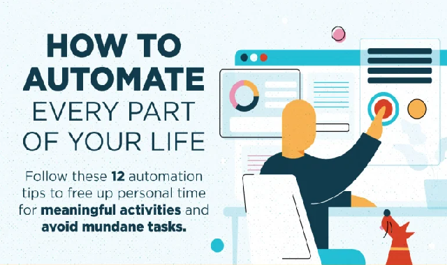 How to Automate Every Part of Your Life #infographic