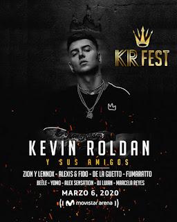 Concierto de KEVIN ROLDAN y amigos en Colombia 2020