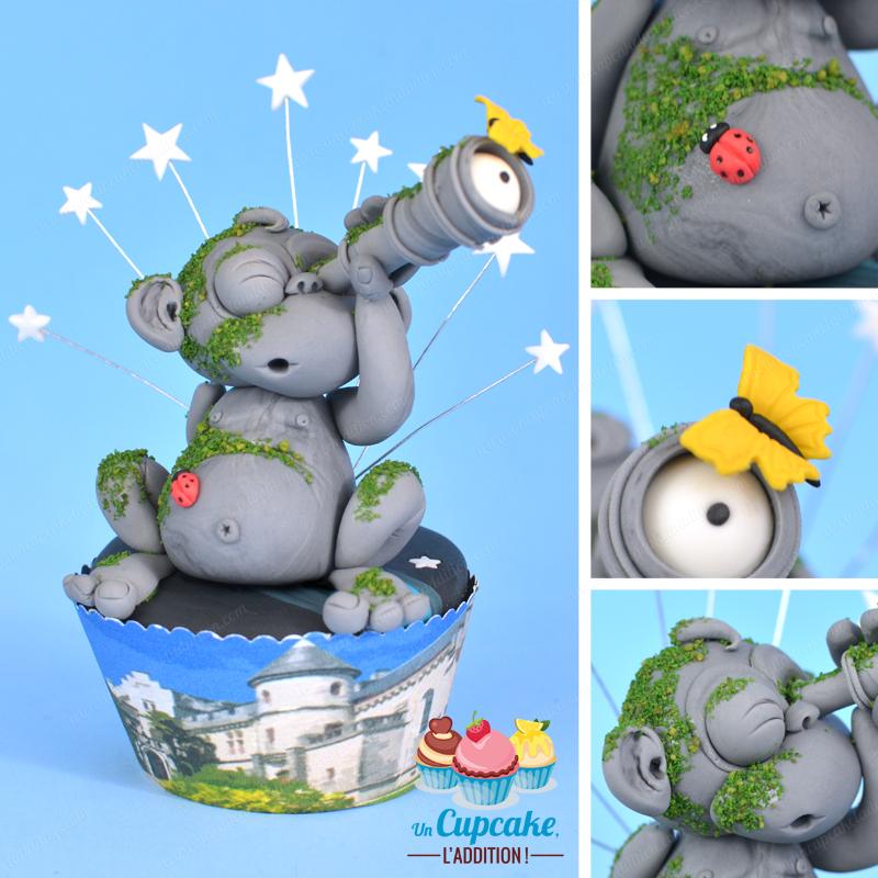 Cupcakes Hendayeses: el Mono Mattin y el Castillo de Abbadia
