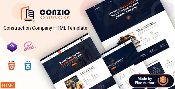 Best Construction Company HTML Template