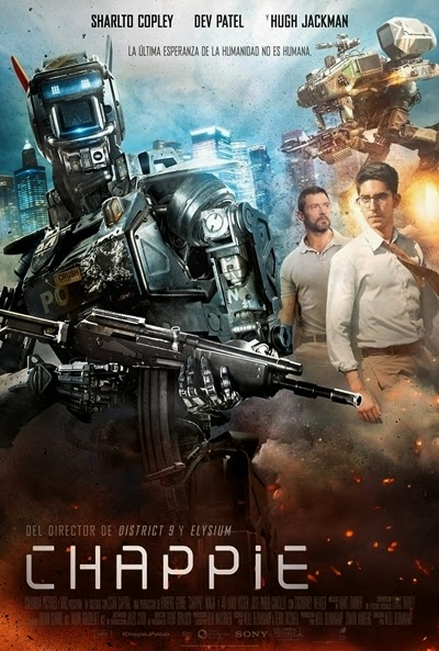Póster: Chappie (2015)