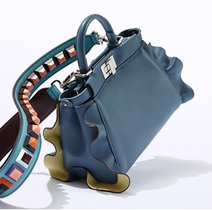 Fendi Peekaboo Leather Satchel