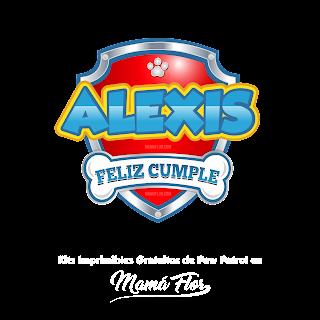 Logo de Paw Patrol: Alexis
