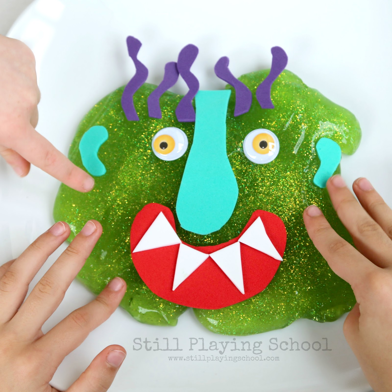 Go Away Big Green Monster Slime