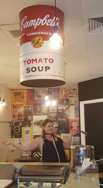 Campbells Soup Drum in Crib Lane, Perth