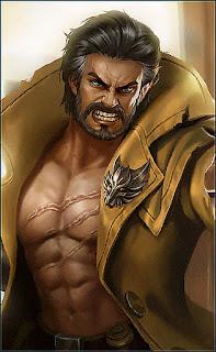 Roger Dire Wolf Hunter Heroes Fighter Marksman of Skins V2