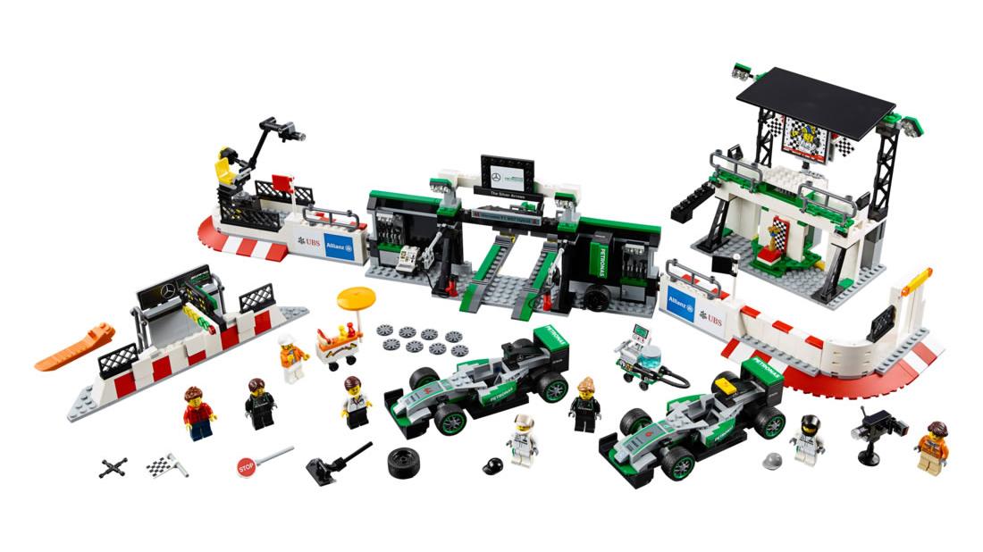 Latest Lego Collection Includes Bugatti Chiron And Ferrari FXX K ...