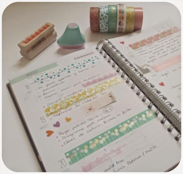 ideas para decorar agendas