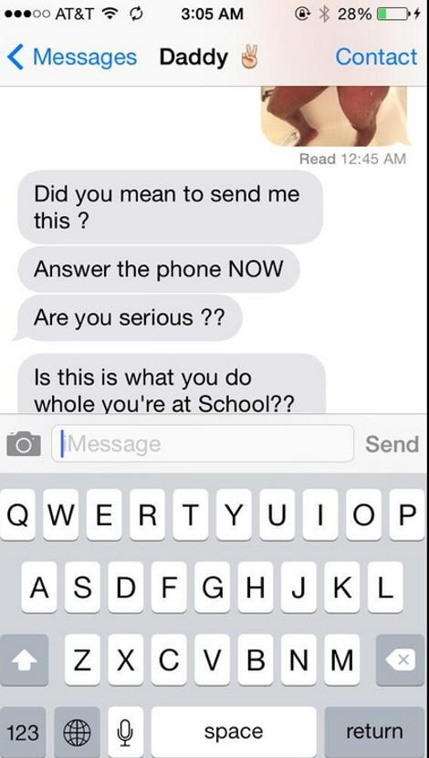 ΜΗ ΣΟΥ ΤΥΧΕΙ | Δείτε τι μήνυμα έστειλε ΚΑΤΑ ΛΑΘΟΣ στο πατέρα της