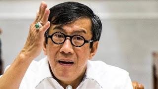 Jawab DPR, Yasonna Sebut Habib Bahar Sendiri yang Bilang Masih Betah di Nusakambangan