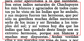 text describing Cachapoya