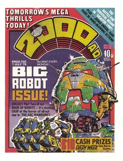 2000AD Prog 120, Big Robot issue