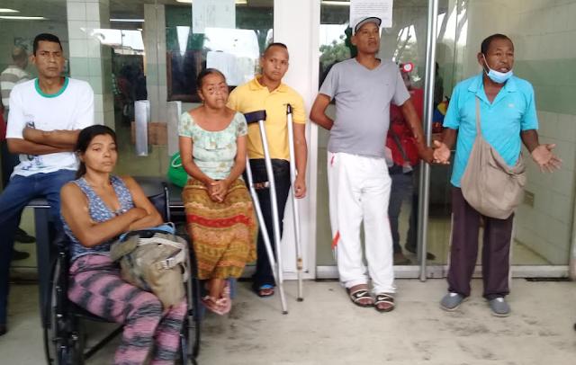 Pacientes renales protestaron por falta de agua para ser dializados en Cumaná
