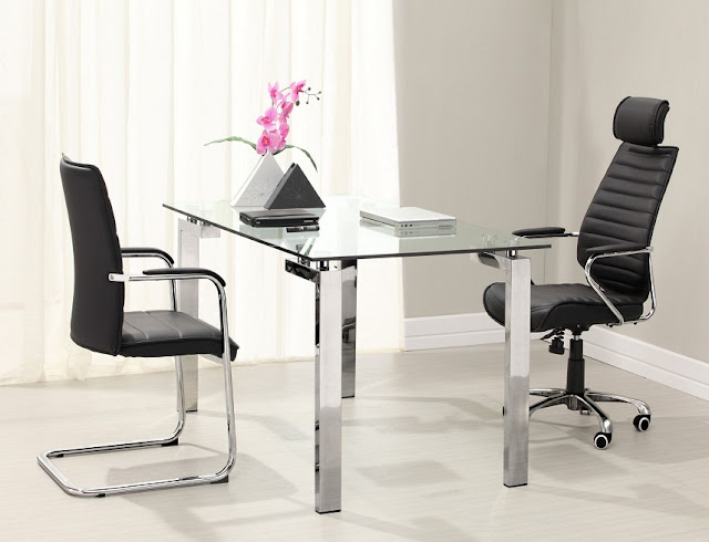 articles on modern office furniture glass design
