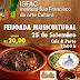 FEIJOADA MUSICULTURAL DO ISFAC