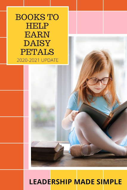 Books to Help Earn Girl Scout Daisy Petals 2020-2021