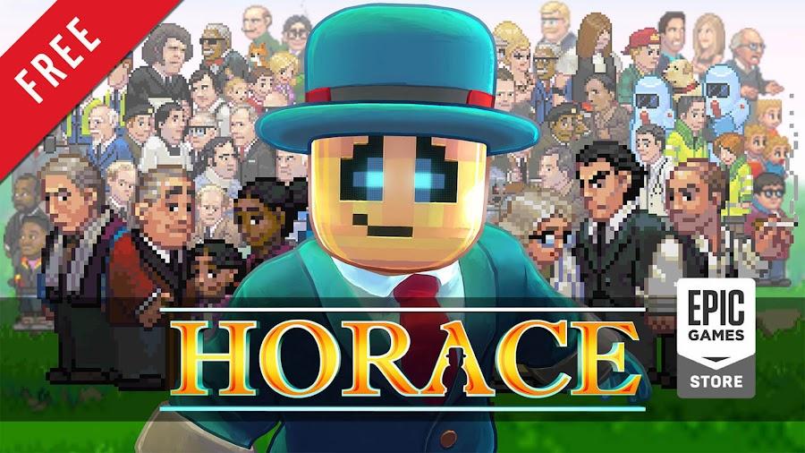 horace free pc game epic games store indie adventure platformer game paul helman sean scapelhorn 505 games