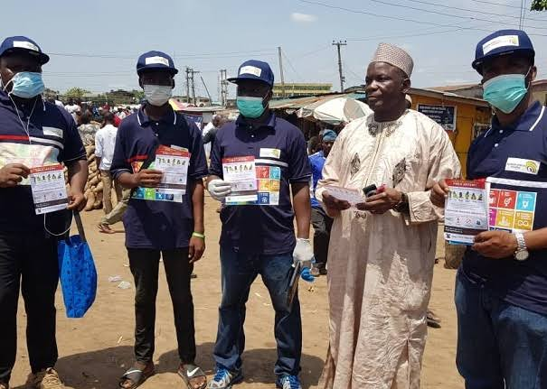 NGO donates to Elderly in Abuja - Covid-19 palliatives