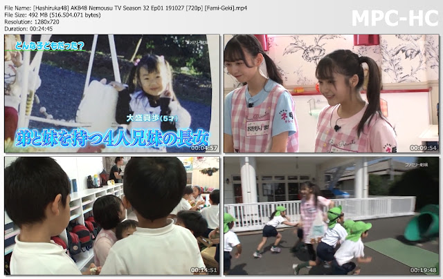 AKB48 Nemousu TV Season 32 Ep01 191027 (Fami-Geki)