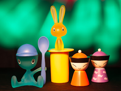 Alessi Characters - Light Painting