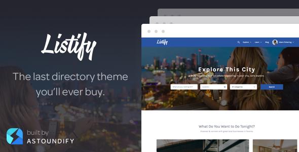 Listify v2.9.0 - WordPress Directory Theme