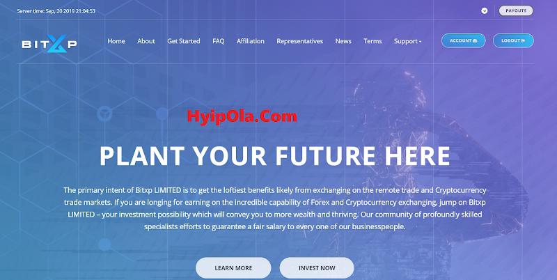 [SCAM] Review Bitxp - Site chiến nhanh lãi cao từ 5% hằng ngày - Thanh toán tức thì