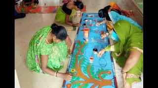mithila-chitrakala-sansthan-exam-madhubani