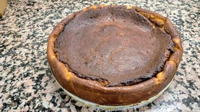 desmoldamos la tarta