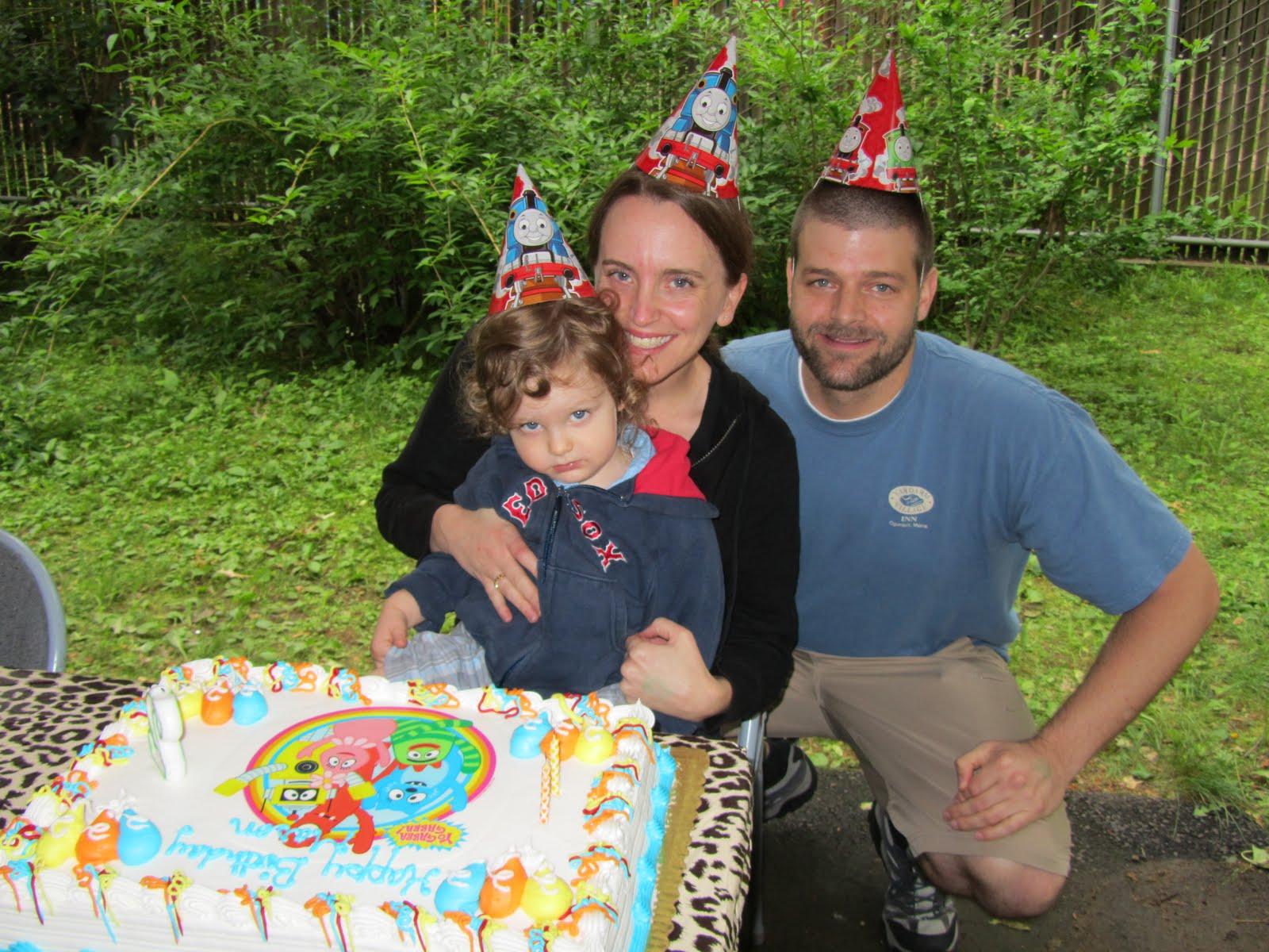 Debbie's Blog: Mason's 2nd birthday party