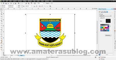Download Logo Kabupaten Bandung Barat Format CDR