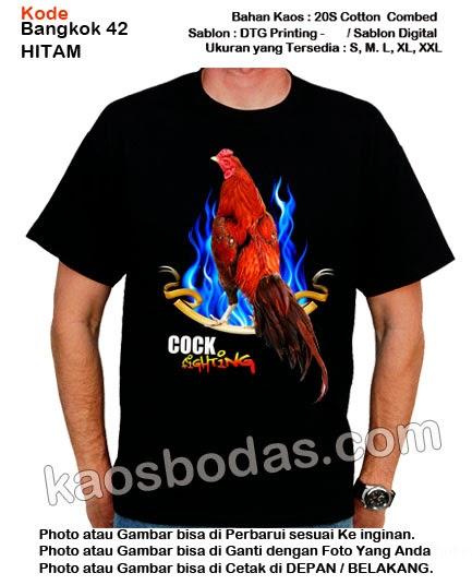 Kaos Ayam Bangkok 42