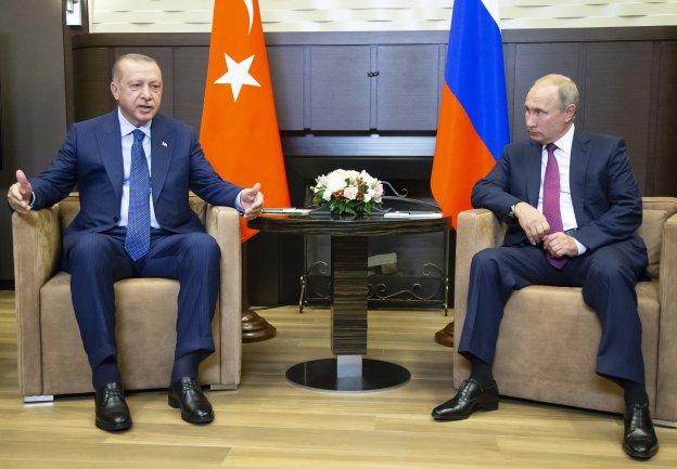 Αποστρατικοποιημένη ζώνη στην Ιντλίμπ ανακοίνωσαν Πούτιν και Ερντογάν
