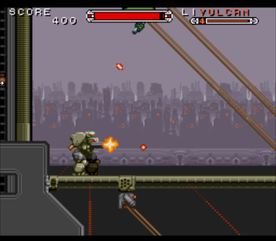【SFC】機動裝甲(Cybernator),設計精緻的動作過關遊戲!