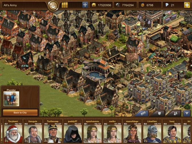 Forge of Empires: iPad Player Guide (Attacking, Plundering, PvP and