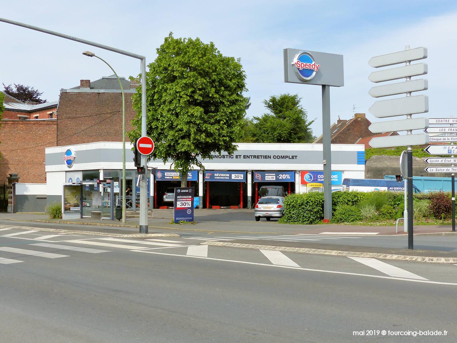Speedy Tourcoing - Boulevard Gambetta, 2019