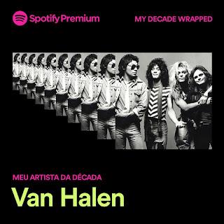 Meus números Spotify + Meu artista mais ouvido na década
