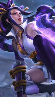 Hanabi Resplendent Iris Heroes Marksman of Skins V1